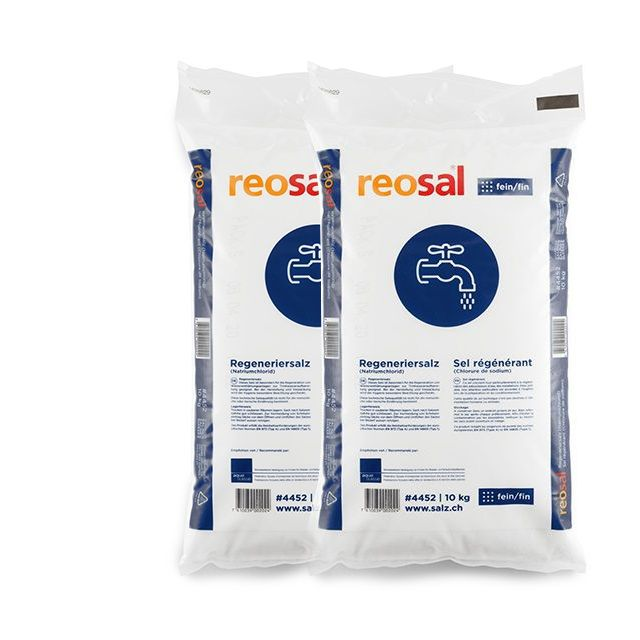 Regeneriersalz fein 2x10kg  Duopack AKTION inkl. Versand