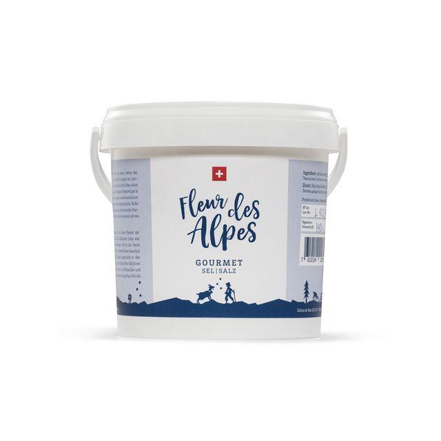 Fleur des Alpes - Gourmet Salz - 1 kg