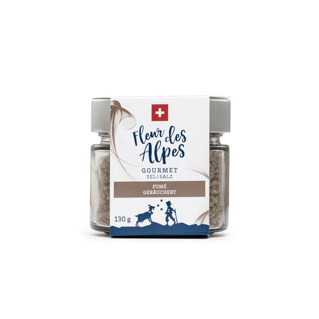 Fleur des Alpes Gourmet Salz, geräuchert