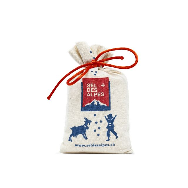 Sel des Alpes, fine salt, bag 200 g