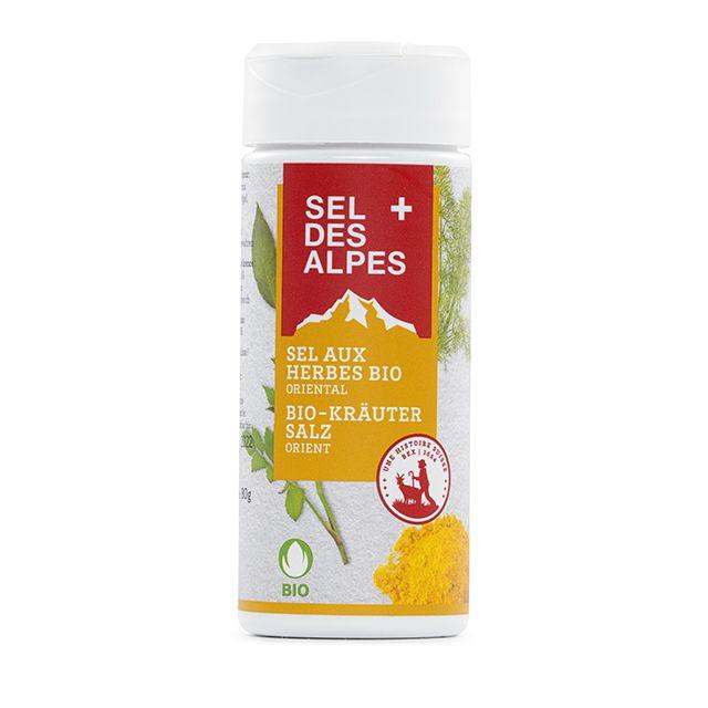 Sel des Alpes, Bio Kräuter-Salz Orient, 80 g