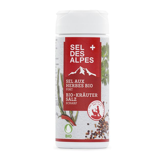 Sel aux Herbes Bio fort