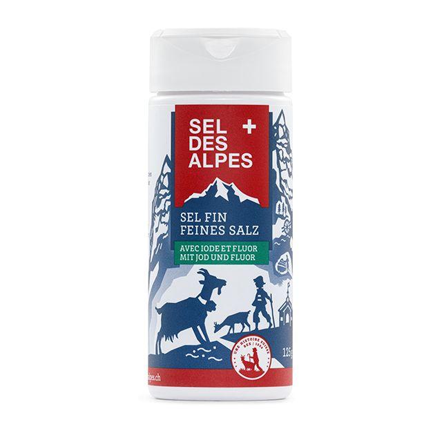 Feines Salz, mit Jod und Fluor